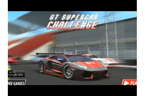 GT Supercar Challenge | Car Games For Children To Play ...