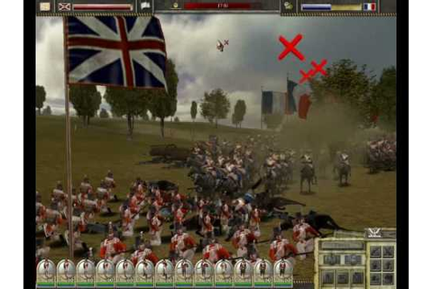 Imperial Glory (game by Pyro studios) The Allied squares ...
