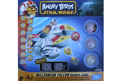 Angry Birds Star Wars. Millennium Falcon Bounce Game ...