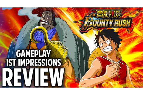 NEW ONE PIECE GAME! Bounty Rush Gameplay FIRST Impressions ...