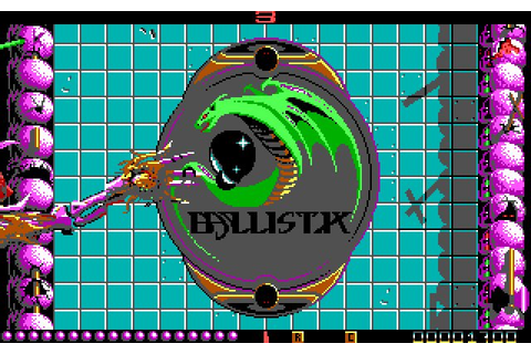 Download Ballistix sports for DOS (1989) - Abandonware DOS
