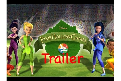 Pixie Hollow Games Trailer - YouTube