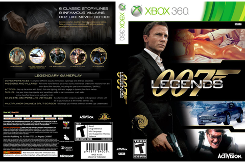 HARD GAMESS: 007 Legends – XBOX 360