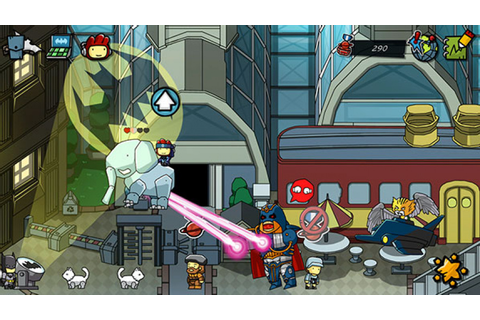 Scribblenauts Unmasked: A DC Comics Adventure Review - Wii ...