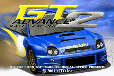 GT Advance 2: Rally Racing (2001) by MTO GBA game