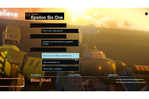 Subsurface Circular is a text adventure from Bithell Games ...
