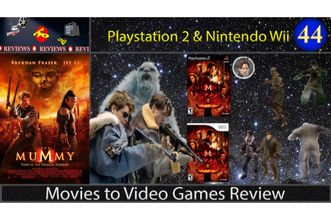 Movies to Video Games Review -- The Mummy: Tomb of the ...
