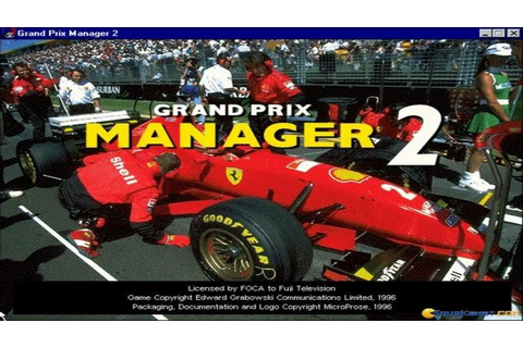 Grand Prix Manager 2 gameplay (PC Game, 1996) - YouTube