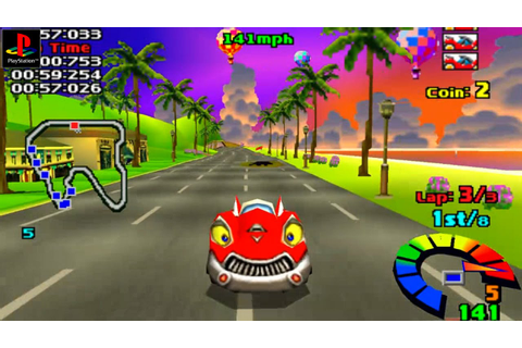 Motor Toon Grand Prix - Gameplay PSX / PS1 / PS One / HD ...
