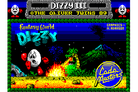 Super Adventures in Gaming: Fantasy World Dizzy (ZX Spectrum)