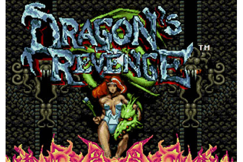 Dragon's Revenge Review for Genesis (1993) - Defunct Games