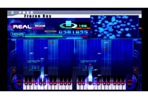 KeyboardMania II (PS2) - Frozen Ray (Double) - YouTube