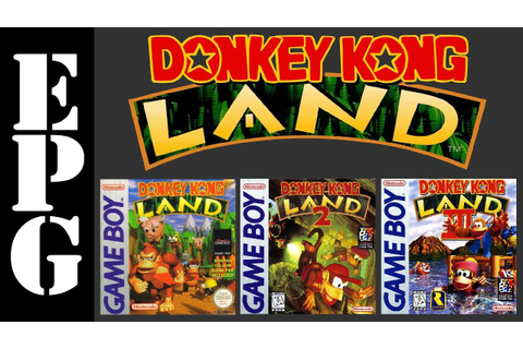 EPG Review: Donkey Kong Land Trilogy - YouTube