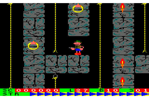Roland on the Ropes (1984) by Indescomp Amstrad CPC game