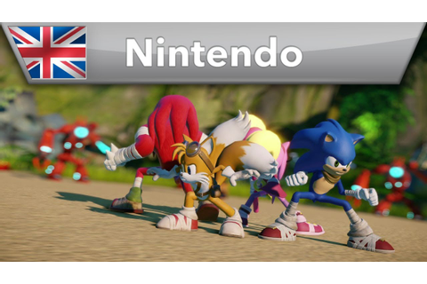 Sonic Boom - Video Game Reveal Trailer (Wii U & Nintendo ...