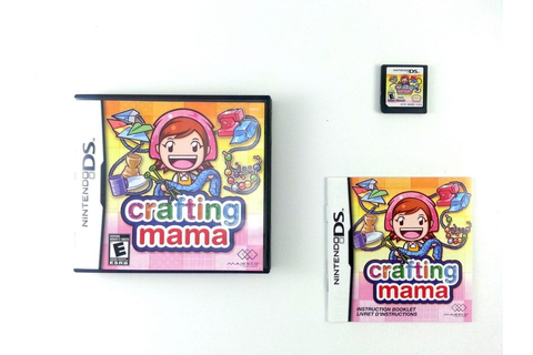 Crafting Mama game for Nintendo DS (Complete) | The Game Guy