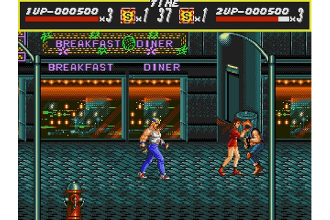 Download Streets of Rage Full PC Game