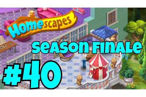 HOMESCAPES Gameplay Story Walkthrough Part #40| Party Room ...