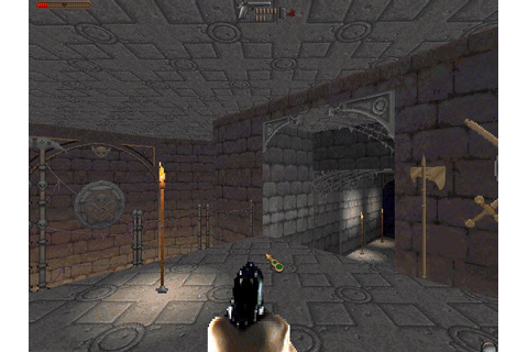 Realms of the Haunting shooter for DOS (1997 ...