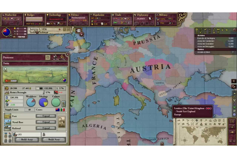 Victoria 2: Heart of Darkness Tutorial Part 1 - YouTube