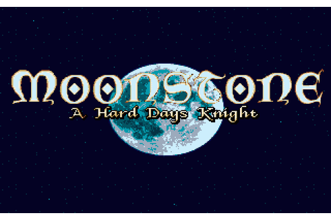Moonstone - A Hard Days Knight (1991) Amiga game