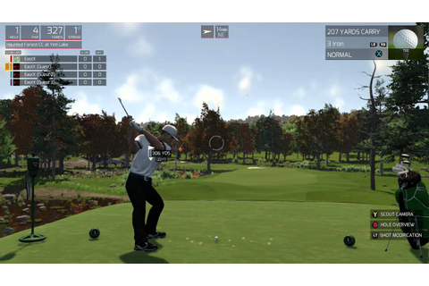 The Golf Club: Xbox One gameplay - YouTube