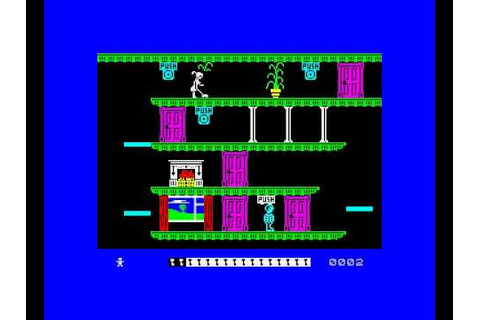 ZX Spectrum 'Moonlight Madness' (Game Play) [Bubble Bus ...
