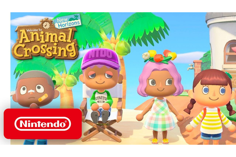 Animal Crossing: New Horizons - Nintendo Direct 9.4.2019 ...