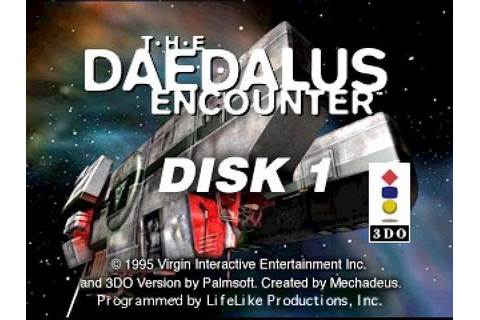 The Daedalus Encounter (1995) by LifeLike Productions 3DO game
