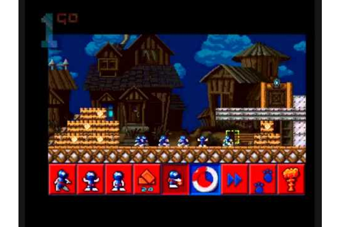 1GO Short Play - All New World Of Lemmings (Amiga) - YouTube