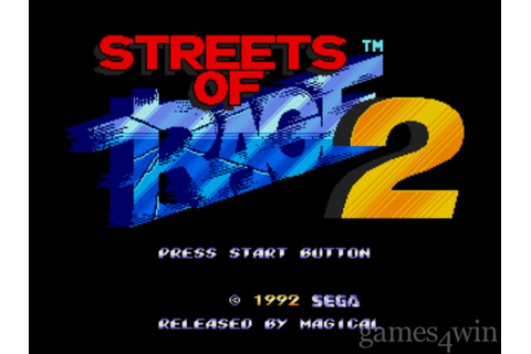 Streets of Rage 2. Download and Play Streets of Rage 2 ...