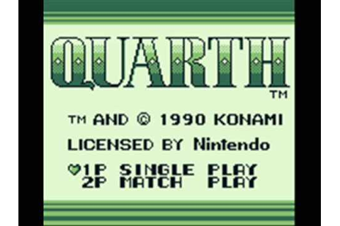 Quarth Game Boy In-Game Music 4 - YouTube