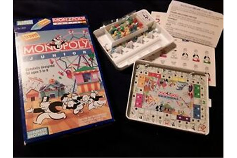 Monopoly Junior Travel Game 1991. NEW NEVER USED | eBay