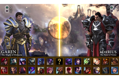 What League of Legends might look like as a fighting game ...