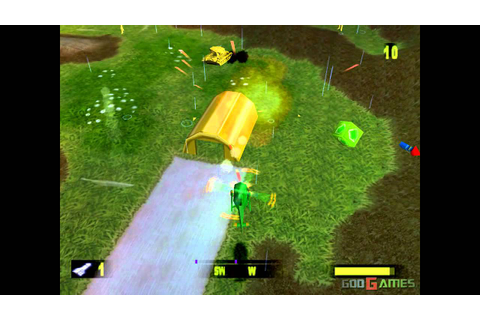 Army Men: Air Attack - Gameplay PSX / PS1 / PS One / HD ...