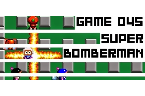 Boxed Pixels: Snes Review : Super Bomberman (Game 045)