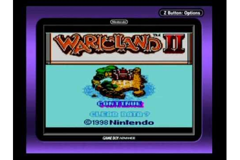 Wario Land II - Intro Game Boy Color (HQ) - YouTube