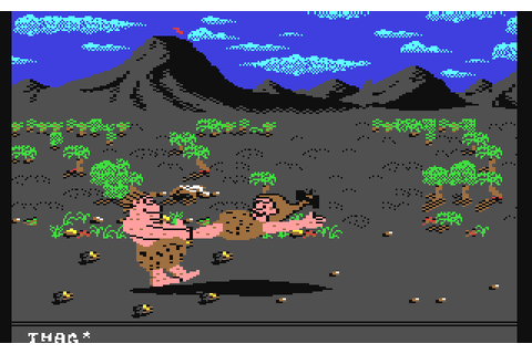 Caveman Ugh-Lympics (1988) by Dynamix C64 game