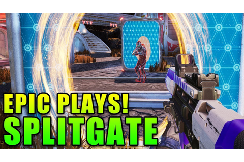 This Game Is Crazy! - Splitgate Arena Warfare - YouTube