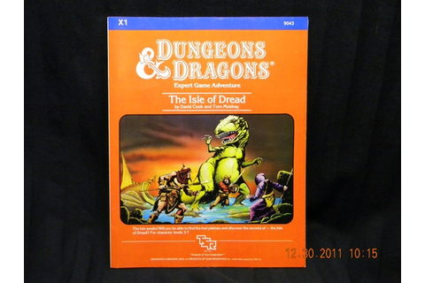 Dungeons and Dragons The Isle of Dread game 1983 by HeyJunkman