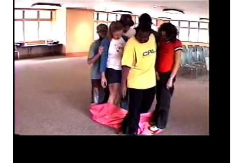 Magic Carpet team building game - YouTube