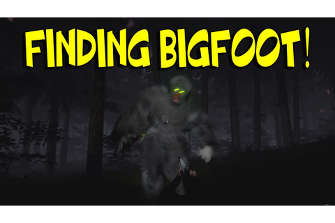 THIS GAME IS AMAZING! | FINDING BIGFOOT #1 - YouTube