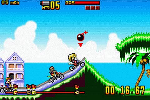 Play Motocross Maniacs Advance Nintendo Game Boy Advance ...