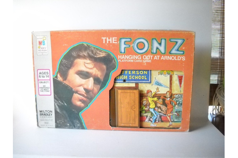Vintage Fonzie Happy Days Board Game