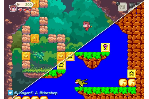 Indie Retro News: Alex Kidd in Miracle World remake is coming!