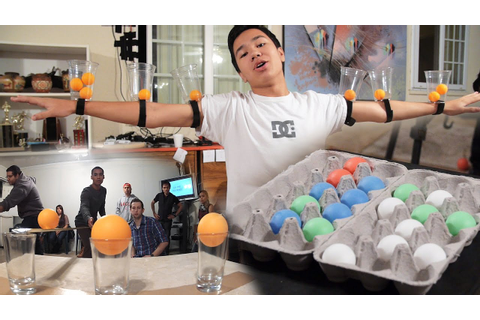 6 MORE Creative Party Games With Ping Pong Balls (Minute ...
