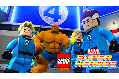 THE FANTASTIC FOUR LEGO Marvel Super Heroes | Games Lego ...