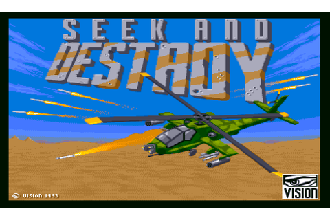 Download Seek and Destroy (Amiga) - My Abandonware