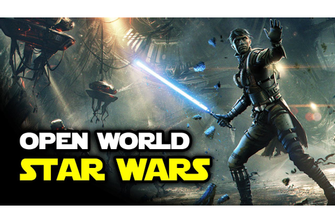 Open World Star Wars Game Details: 3rd Person, Bosses, RPG ...