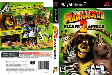 KML GAMES: Madagascar 2: Escape To Africa